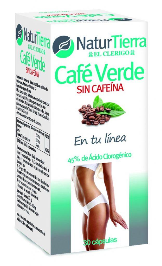 cafe verde sin cafeina naturtierra