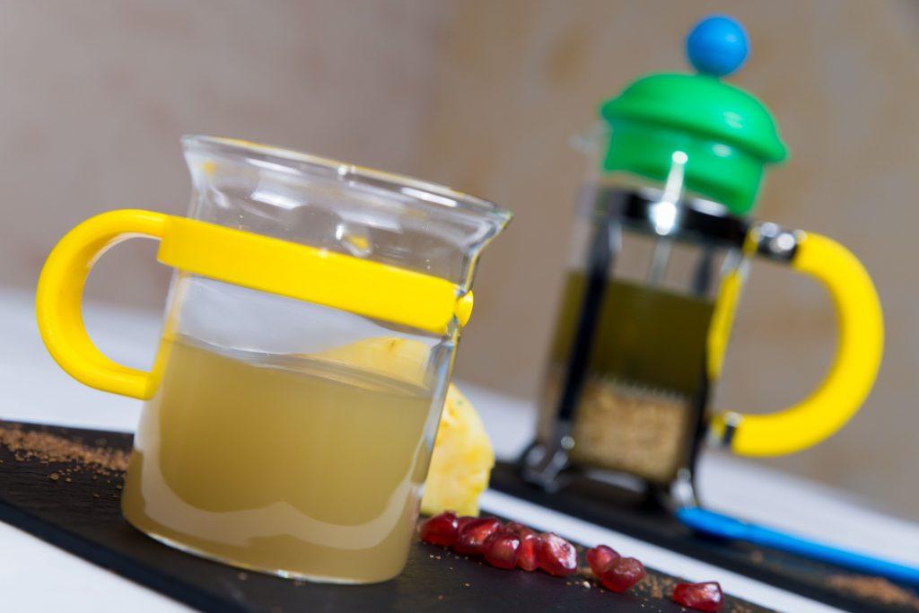como preparar cafe verde con jengibre