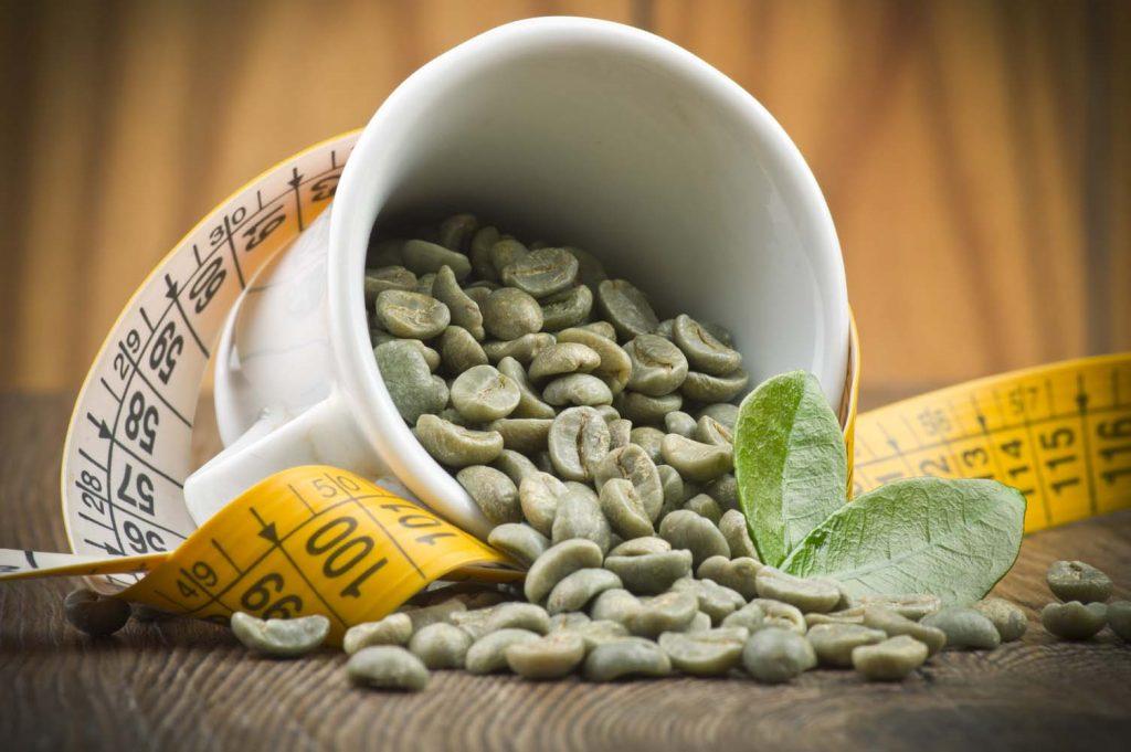 cafe verde y jengibre