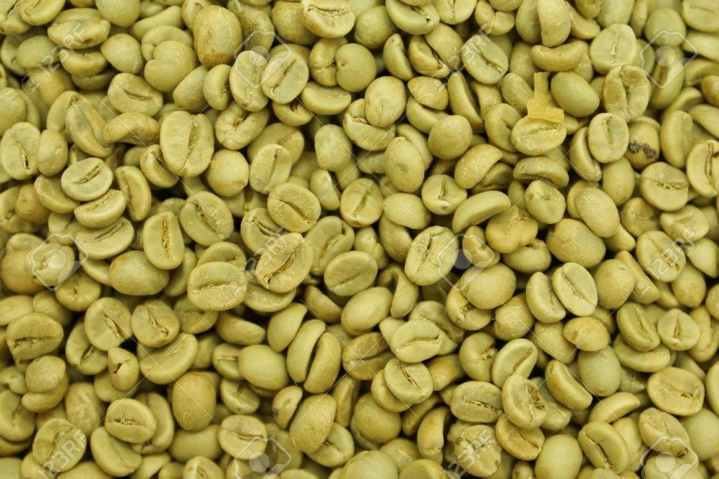 cafe verde en grano propiedades