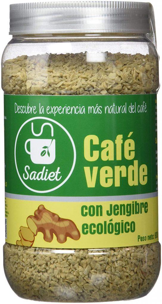 cafe verde con jengibre sadiet