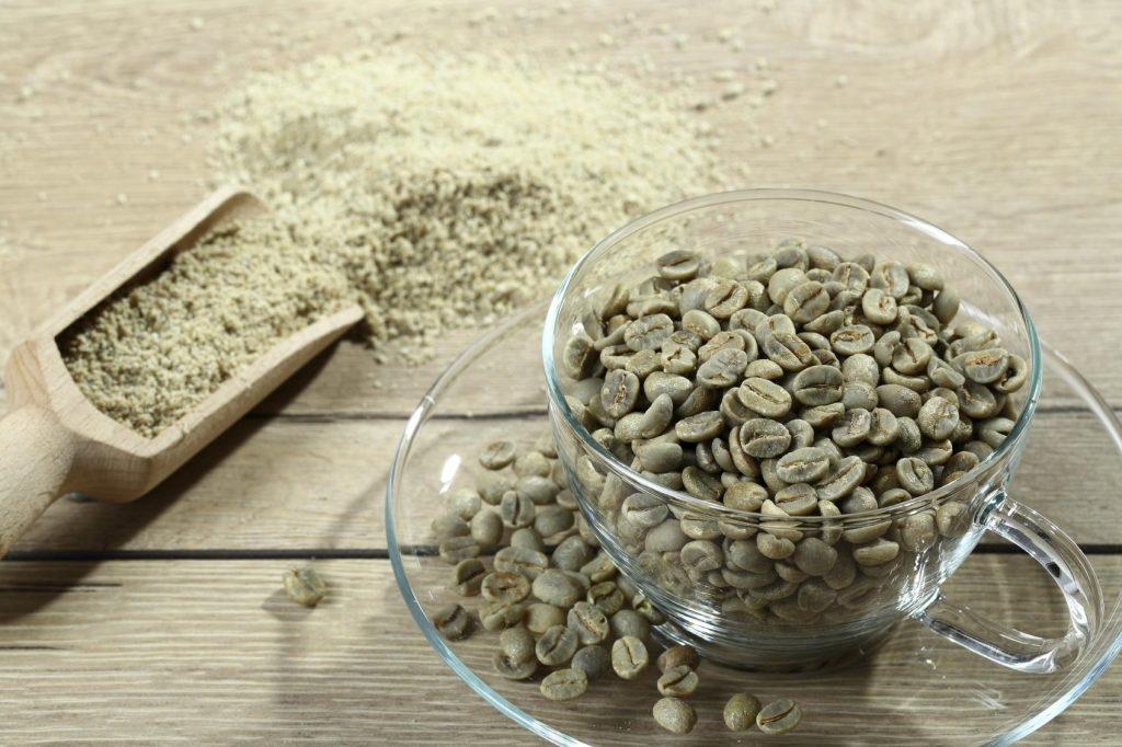 extracto de café verde usos