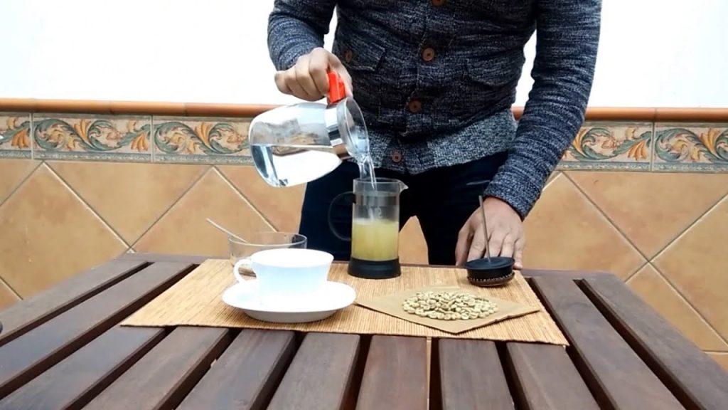 como tomar cafe verde con jengibre